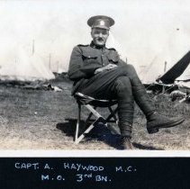 Image of Captain A. Haywood, MC