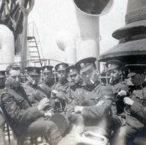 Image of 3rd Bn Group on the Tunisa 1914