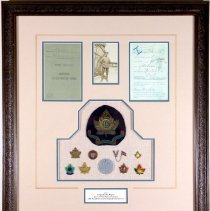 Image of Sgt John Rogers Shadow Box collection