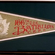 Image of 166th Battalion Pennant
