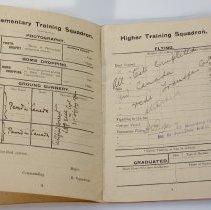 Image of Percy Hampton RFC Transfer Card