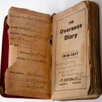 Image of Overseas Diary of Sgt A. McLaren