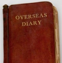 Image of Overseas Diary of Sgt A. McLaren -