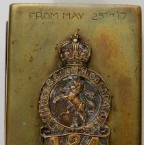 Image of Trench Art Matchbox
