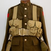 Image of 3rd Battalion Tunic reproduction with webbing
