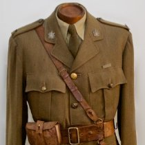 Image of 255th Major's First World War Service Dress Tunic -