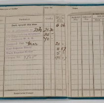 Image of Military Pay Book - W.N. McArthur
