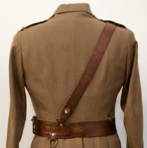 Image of 166th Battalion Capt J.E. Flavelle uniform