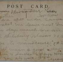 Image of WWI Post Card
