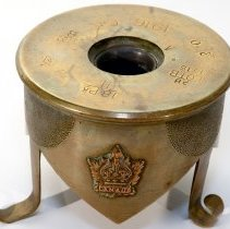 Image of First World War Trench Art Ashtray