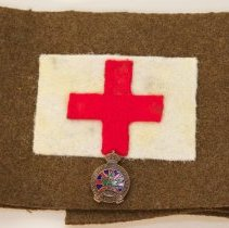 Image of First World War Red Cross Armband