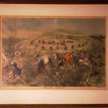 Image of Framed Cut Knife Creek Lithograph