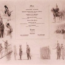 Image of Menu from 1911 Dinner