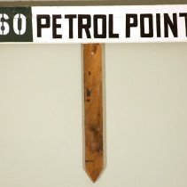 Image of Petrol Point Sign -
