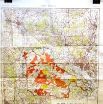 Image of New Forest Training Area Map 1943 - 1943/  /
