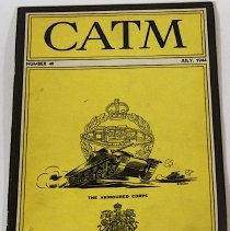 Image of Canadian Army Training Memorandum July 1944 Number 40 - 1944/07/