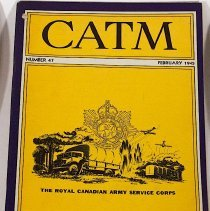 Image of Canadian Army Training Memorandum February 1945 Number 47 - 1945/02/