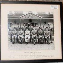 Image of Canadian Bisley Team, 1962 (Framed)