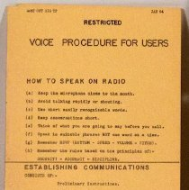 Image of Voice Procedures for Users