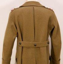 Image of Greatcoat belonging to Maj Gen Sir Henry Pellatt