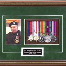 Image of Rfn. Eugene (Gene) D. Bell Shadow Box