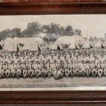 Image of 3rd BAttalion QOR at Camp Niagara, September 1942 (Framed)