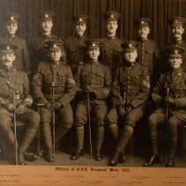 Image of Officers of QOR Sergeants' Mess 1918 - 1918