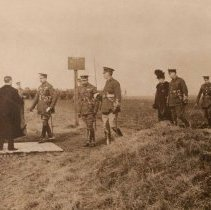 Image of First Contingent Inspection by King George V - November 1914