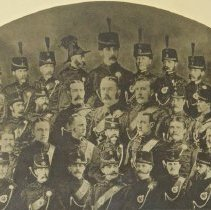 Image of QOR Officers 1878-1881 -