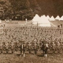 Image of 2nd Queen's Own Rifles of Canada, Rushmoor Camp, Aldershot 1910