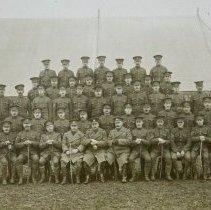 Image of 3rd Bn, CEF Senior NCOs - November 1914