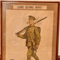 Image of Come Along Boys! Recruiting Poster 1914