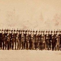 Image of B Coy QOR 1883 - 1883
