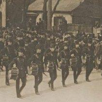 Image of QOR Bugle Band - Circa WWI
