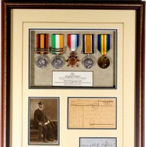 Image of Thomas F. Myers Memorial Collection Shadow Box -
