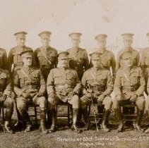 Image of Officers of the 83rd Overseas Battalion - 1915/  /