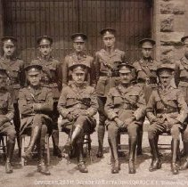 Image of Officers of the 255th Overseas Battalion - 1917/05/15