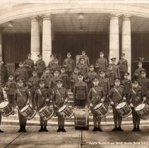 Image of 166th Battalion QOR Bugle Band CEF -
