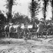Image of 3rd Battalion CEF Band August 1916