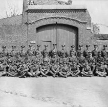 Image of Officers of the 3rd Battalion. May, 1918 -