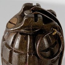 Image of WWI Mills hand grenade No. 36