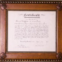 Image of 01048 - Certificate