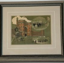 Image of Framed Christmas Card