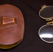 Image of Eyeglasses and Case - Durie Family