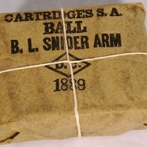 Image of 1889 Snider Amm. Ball  -