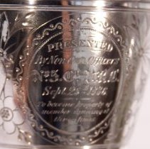 Image of Shooting Trophy - Inscription