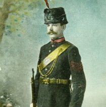 Image of Postcard - Sergeant