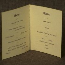 Image of Garrison Dinner Menu - Inside