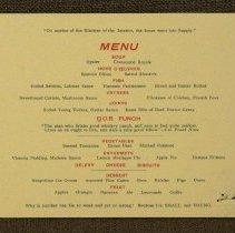 Image of Annual Dinner 1894 - Inside