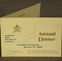 Image of Annual Dinner 1894